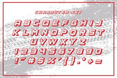 The Racing Star - SVG Font Product Image 5