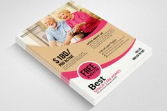 Old Care Homes Flyers Template Product Image 3