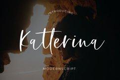 Katterina Modern Script Font Product Image 1