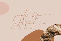 Ooid Sand Calligraphy Script Font Product Image 2