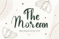 Web Font Morean Display Font Product Image 1