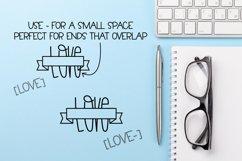 Master Plan - A Banner Font Quad Product Image 3
