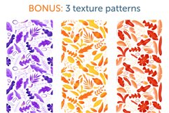 Shapes and leaves for creating patterns Product Image 8