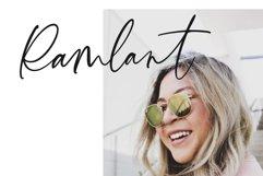 Santana Calligraphy Font Product Image 5