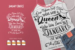 One Upon A Time There Was A Queen   Lettering Quotes Product Image 1