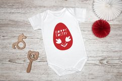 Happy Easter SVG. Egg Paper Cut SVG.Papercut Easter.Easy SVG Product Image 4