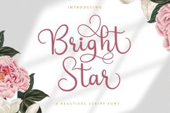 Bright Star - Beautiful Script Font Product Image 1