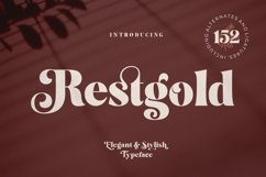 Restgold Serif Font Product Image 1