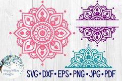 Mandala SVG Bundle | Half Mandala |Personalized Name Mandala Product Image 5