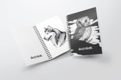 A5 Spiral Notebook Mockups Product Image 2