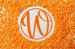 Web Font Circle Monogram Font - Monogram Initials Product Image 3