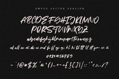 AMPVX SVG Brush Font Free Sans Product Image 6