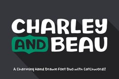 Charley and Beau Font Duo Product Image 1