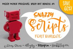 Billy Bot Bundle 4 - Snazzy Scripts Font Bundle! Product Image 7
