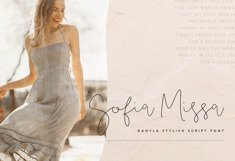 Danyla Stylish Signature Font Product Image 2