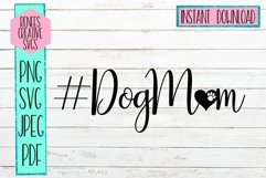DogMom | Pets | SVG Cutting File Product Image 1