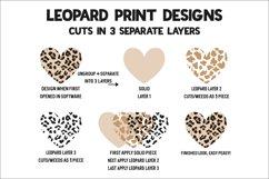 Leopard Baseball Heart - Baseball Cheerin' Auntie SVG Product Image 3