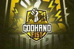 Godhand Fist - Mascot & Esport Logo Product Image 1