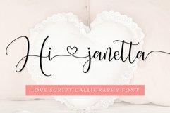 Hi janetta Script Product Image 1