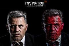 Typo Portrait v2 Photoshop Action Product Image 1