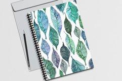 WATERCOLOR FOLIAGE patterns & motifs Product Image 4
