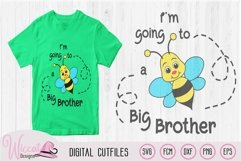 Big Brother svg, kids svg, Bee quote svg, word pun svg, Product Image 2