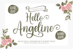 Hello Angeline Font Duo Product Image 1