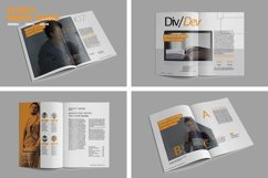 Devided Annual Report Template Product Image 2