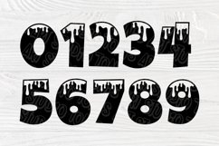 Dripping Font SVG, Dripping Letters, Alphabet Clipart Product Image 5