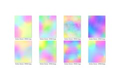 16 Pastel Rainbow Textures Scrapbook Papers Product Image 3