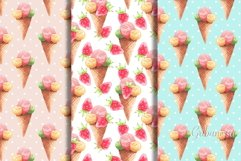 Sweet set. 6 watercolor patterns Product Image 2
