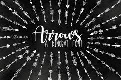 Arrow Font - Ornaments  Product Image 1