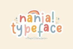 Web Font Nania Product Image 1