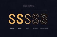 Bondan Typeface Product Image 4