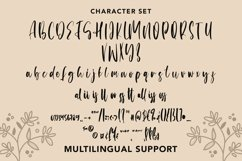 Web Font Naturally - Handlettering Brushed Font Product Image 5