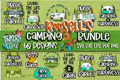 Roosell's Camping SVG Bundle Product Image 1