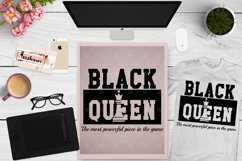 Black Queen, Afro Queen, Black History Month, Africa SVG Product Image 1