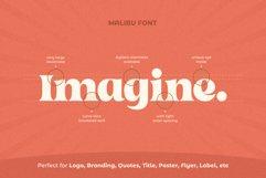 Malibu Fancy Vintage Font Product Image 5