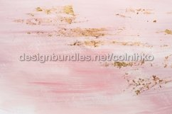 Delicate pink marble background or texture with gold accents Product Image 1