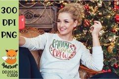 Candy Cane Crew Christmas Sublimation Product Image 1