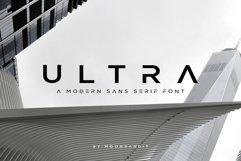 ULTRA - Modern Sans Serif Font Product Image 1