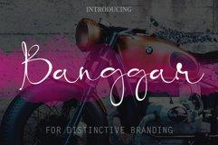 Banggar Signature Font Product Image 2