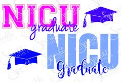 NICU Grad Cut File Set | SVG, EPS, DXF, PNG Product Image 1