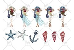 Summer Clipart, Nautical Clip Art Product Image 2