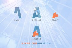 Asans Layered Font Product Image 6