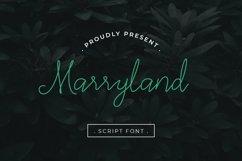 Marryland Handwritten Script Monoline Product Image 1