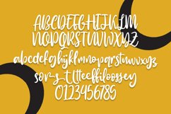 Smilley - Quirky Lettering Font Product Image 6