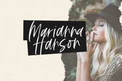 Fall Harvest - A Handwritten Script Font with extras! Product Image 3