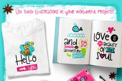 30 Funny Lettering Cards Collection Product Image 2