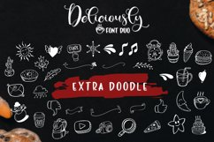 Deliciously Font Duo Extras Product Image 3